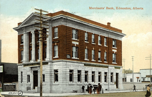 1907 &#8211; Merchants Bank of Canada, Edmonton