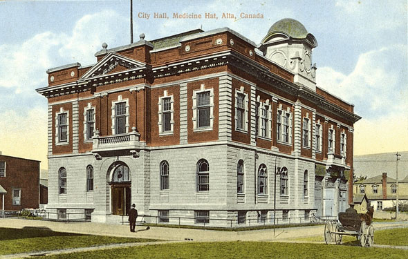 1905 &#8211; City Hall, Medicine Hat, Alberta