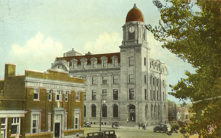 1913 &#8211; Post Office, Lethbridge, Alberta
