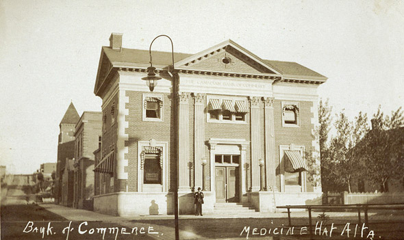 1904 – Canadian Bank of Commerce, Medicine Hat, Alberta