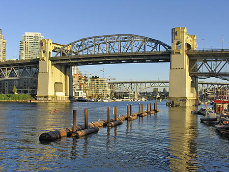 1932 – Burrard Street Bridge, Vancouver, British Columbia