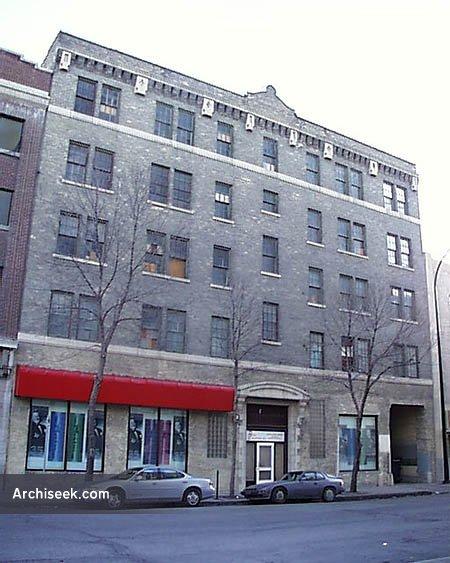 1912 – 139 Market Avenue, Steele Briggs Building, Winnipeg, Manitoba