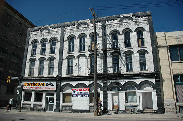 1883 – Bathgate Block, Winnipeg, Manitoba