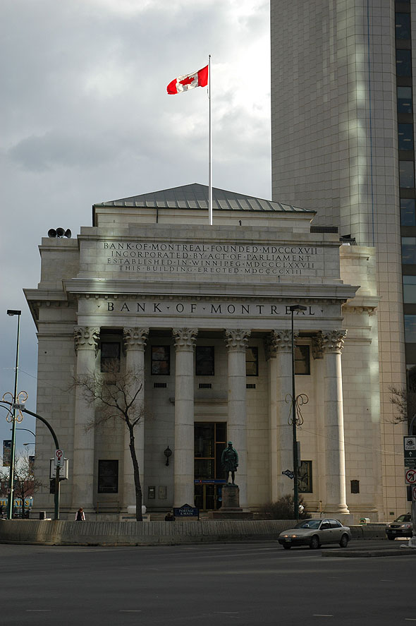 1913 – Bank of Montreal, Winnipeg, Manitoba