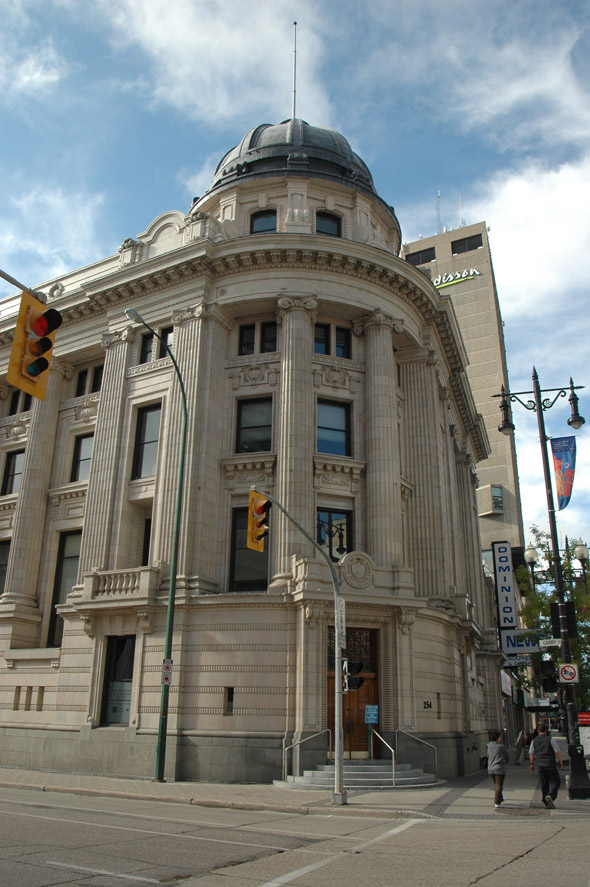 1908 – Former Bank of Nova Scotia, Winnipeg, Manitoba