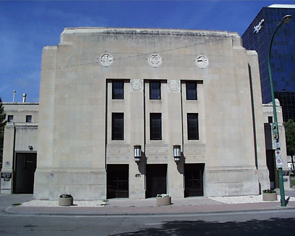1932 – Manitoba Archives Building, Winnipeg, Manitoba