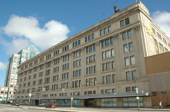 1927 &#8211; Hudson&#8217;s Bay Department Store, Winnipeg, Manitoba