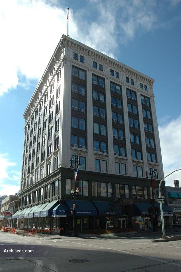 1912 – Boyd Building, Winnipeg, Manitoba