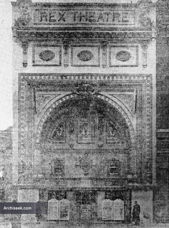 1913 – Former Rex Theatre / Epic Theatre, Winnipeg, Manitoba
