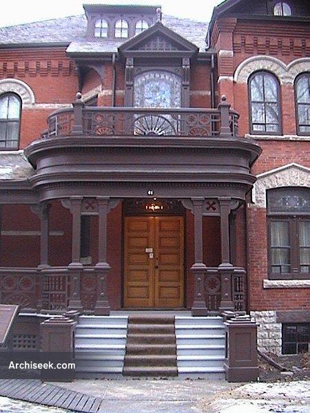 1895 – Dalnavert House, Winnipeg, Manitoba