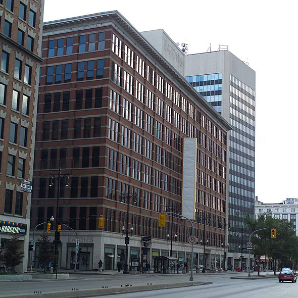 1904 – Eaton's Department Store, Winnipeg, Manitoba
