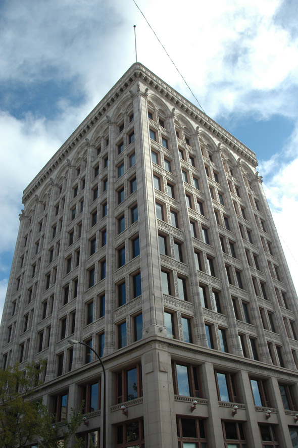 1913 &#8211; Electric Railway Chambers Building, Winnipeg, Manitoba