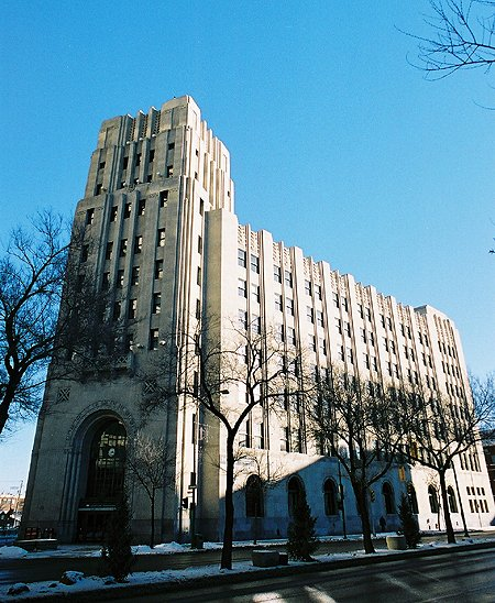 1935 &#8211; Federal Building, Winnipeg, Manitoba