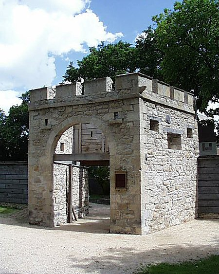 1835 – Upper Fort Garry Gate, Winnipeg, Manitoba
