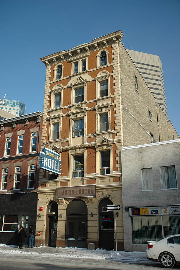 1906 &#8211; Garrick Hotel, Winnipeg, Manitoba