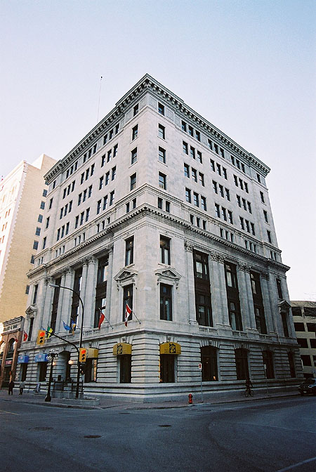 1922 &#8211; Great West Life Building, Winnipeg, Manitoba