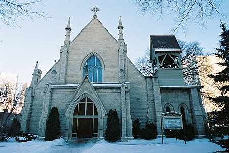 1884 – Holy Trinity Anglican Church, Winnipeg, Manitoba
