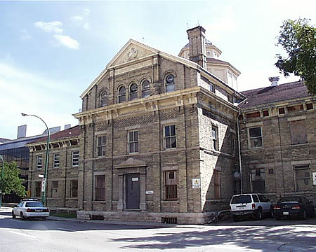 1883 – Vaughan Street Jail, Winnipeg, Manitoba