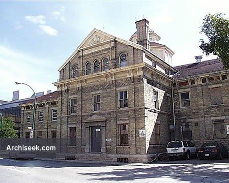 1883 – Vaughan Street Jail, Winnipeg, Manitoba