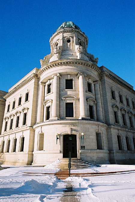 1916 – Provincial Law Courts, Winnipeg, Manitoba