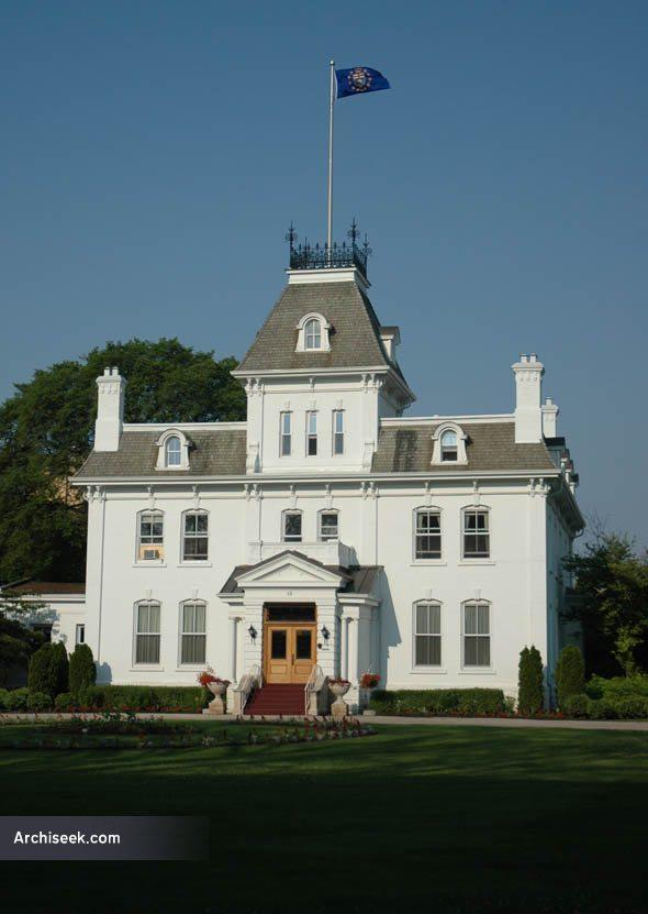 1883 – Lieutenant Governor's Residence, Winnipeg, Manitoba