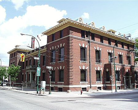 1905 – Manitoba Club, Winnipeg, Manitoba