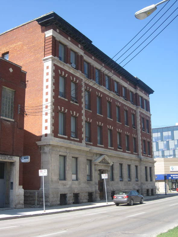 1907 – Garry Telephone Exchange Building, 474 Hargrave Street, Winnipeg