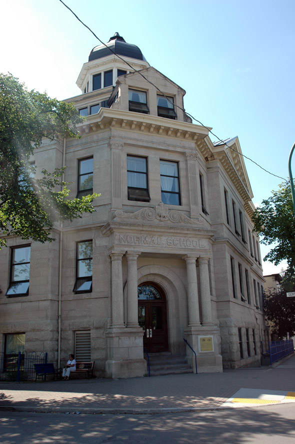 1906 &#8211; Central Normal School, William St., Winnipeg