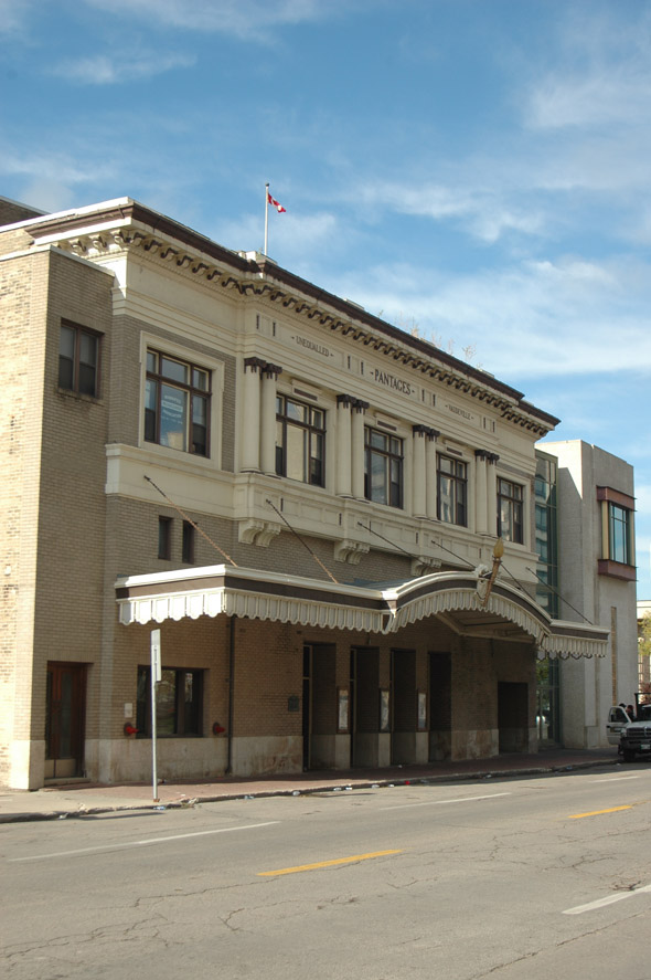 1913 – Pantages Playhouse, Winnipeg, Manitoba