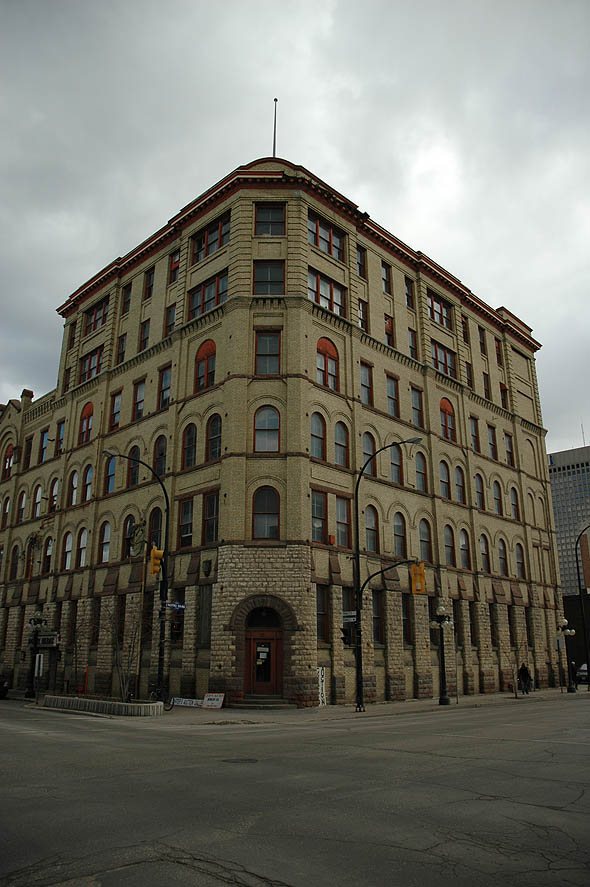 1893 &#8211; Peck Building, Winnipeg, Manitoba