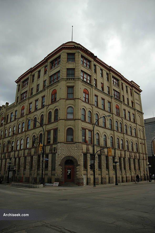 1893 – Peck Building, Winnipeg, Manitoba