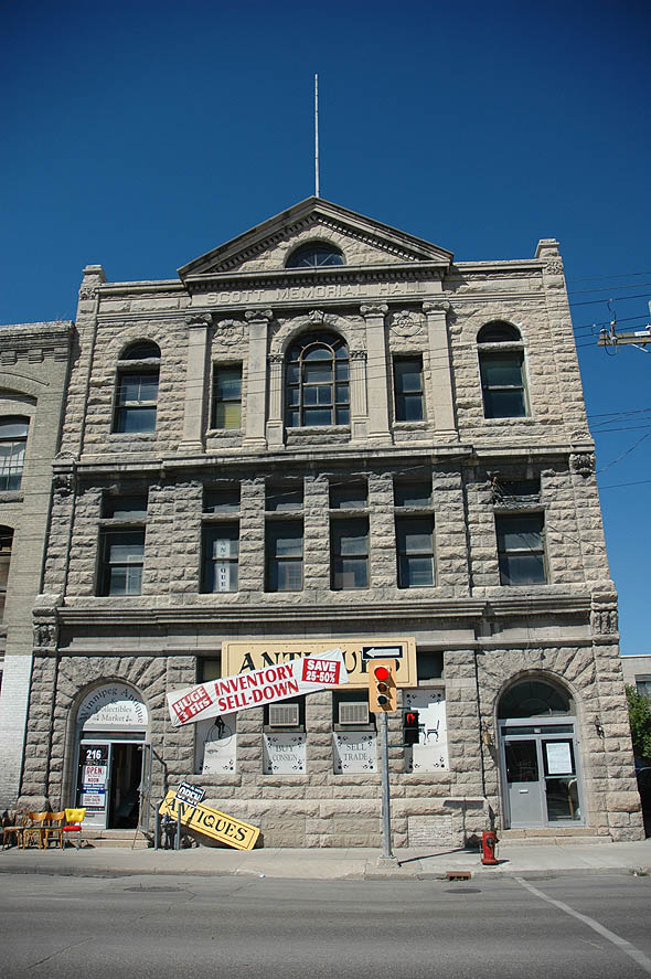 1902 – Thomas Scott Memorial Orange Hall, Winnipeg, Manitoba