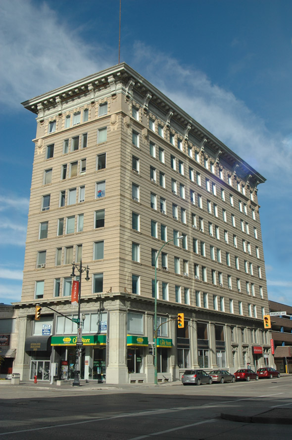 1914 – Sterling Building, Winnipeg, Manitoba