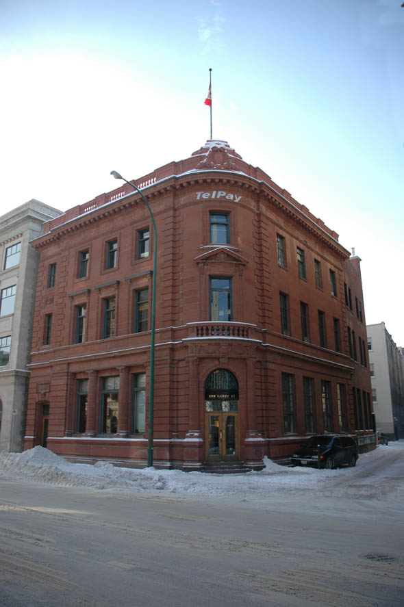 1909 – Canada Permanent Building, Winnipeg, Manitoba