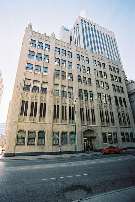 1930 – Manitoba Telephones Building, Winnipeg, Manitoba