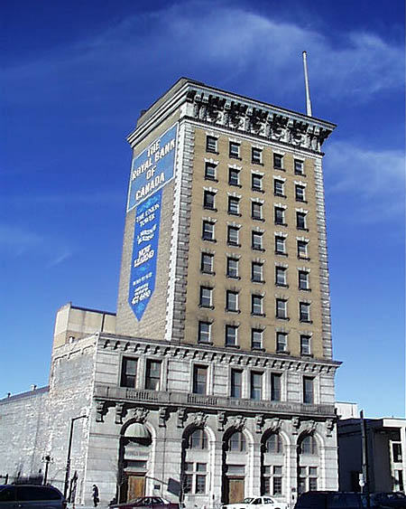1904 – Union Tower, Winnipeg, Manitoba