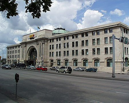 1911 &#8211; Union Station, Winnipeg, Manitoba