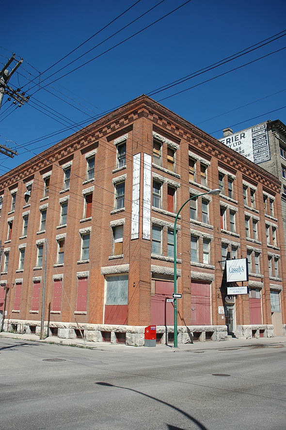 1906 – Frost & Wood Warehouse, Winnipeg, Manitoba