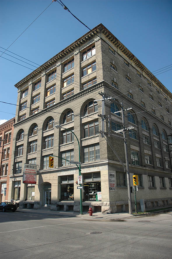 1910 &#8211; Werier Block, 238 Princess Avenue, Winnipeg, Manitoba