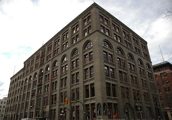 1911 – Whitla Building, Winnipeg, Manitoba