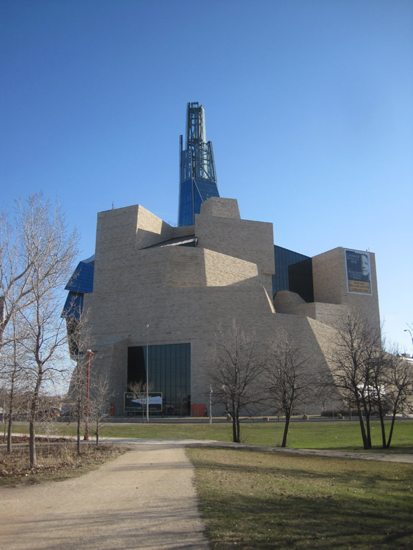 Progress of the Canadian Museum for Human RIghts, Winnipeg