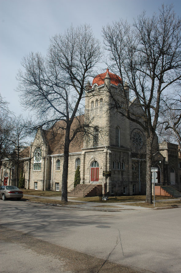 1909 – Trinity Baptist Church, Winnipeg, Manitoba