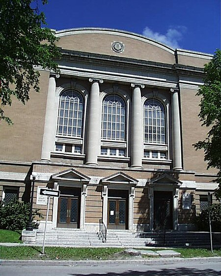 1916 &#8211; First Church of Christ, Scientist, Winnipeg, Manitoba