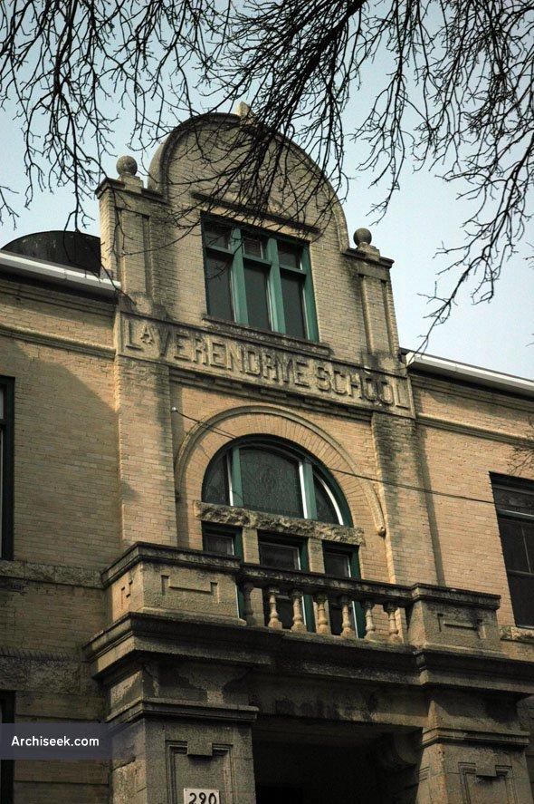 1909 – Ecole La Verendrye, Winnipeg, Manitoba