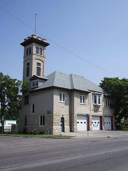 1912 &#8211; Firehall No.15, Winnipeg, Manitoba