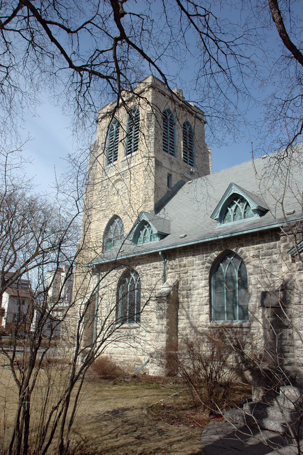 1905 &#8211; St Luke&#8217;s Anglican Church, Winnipeg, Manitoba