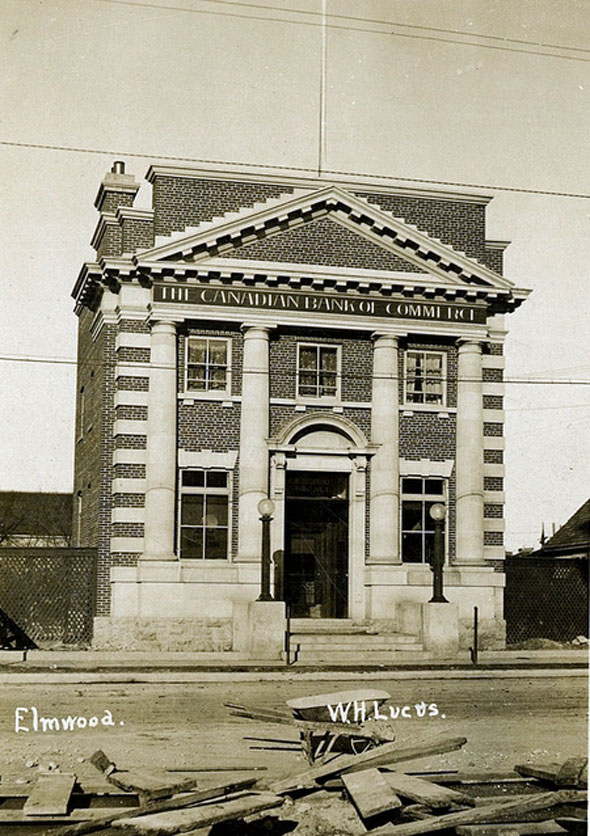 1906 – Canadian Bank of Commerce building, Elmwood, Winnipeg
