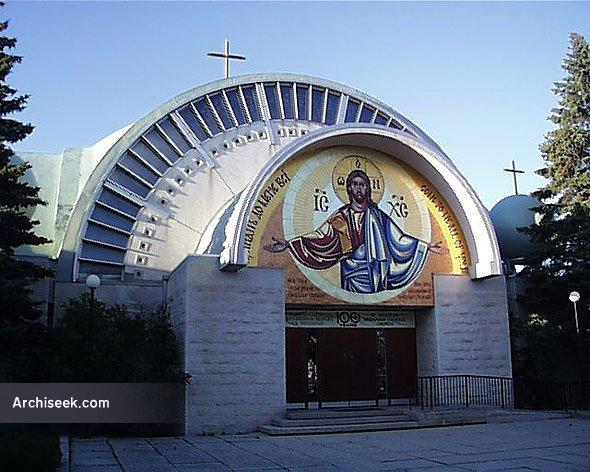 1966 St Nicholas Ukrainian Catholic Church Winnipeg