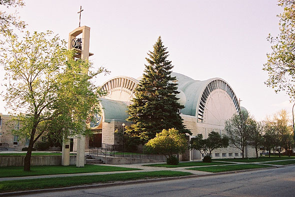 1966 – St. Nicholas Ukrainian Catholic Church, Winnipeg, Manitoba