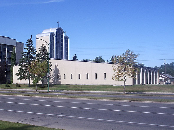 1963 – Holy Family Church, Winnipeg, Manitoba